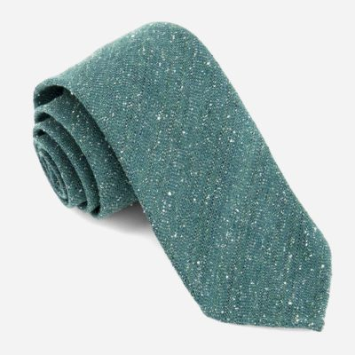 men's Hunter Green necktie - A Last-Minute Father's Day Gift For Dad
