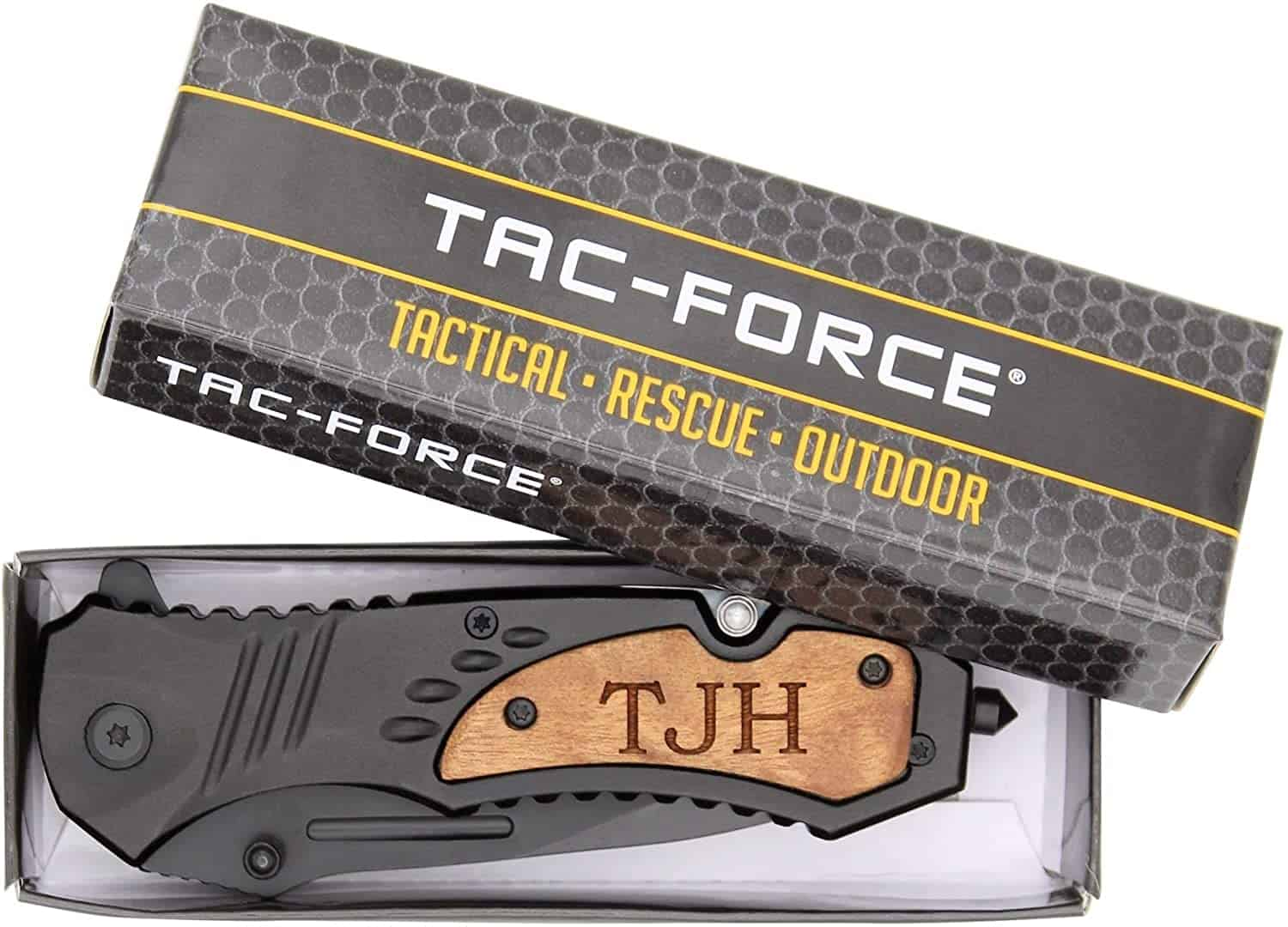 good retirement gifts for men: Engraved Pocket Knife in a box