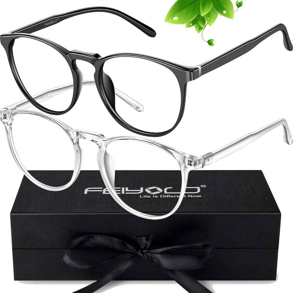 A Pair Of Blue Light Blocking Glasses For Him As A Graduation Gift