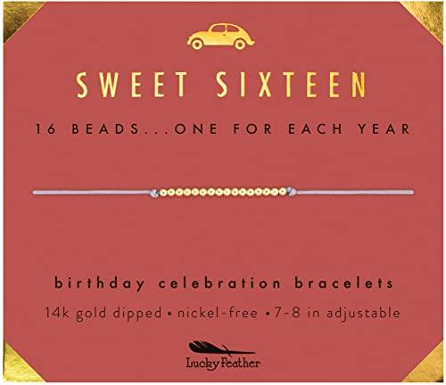 Lucky Feather Sweet 16 Gifts for Girls