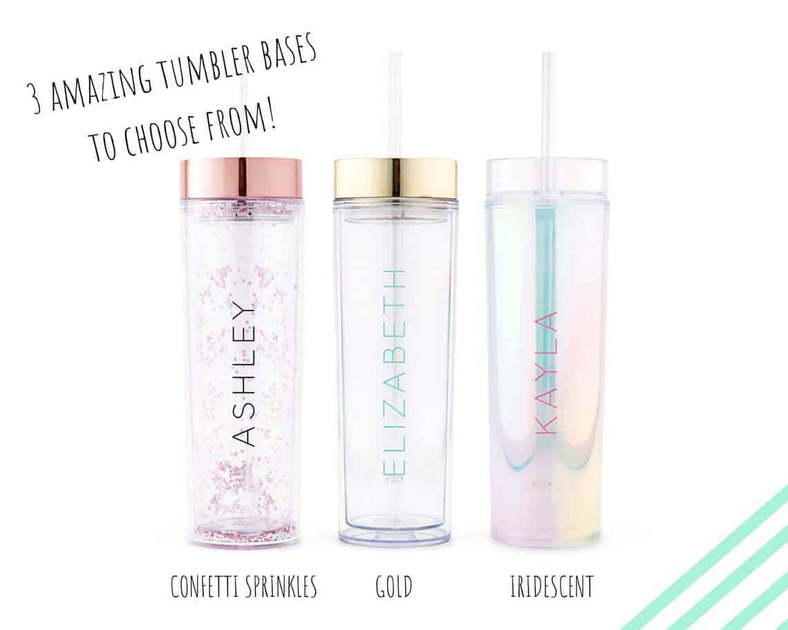 Personalized Drink Tumbler - 16th Birthday Gift Ideas For Her