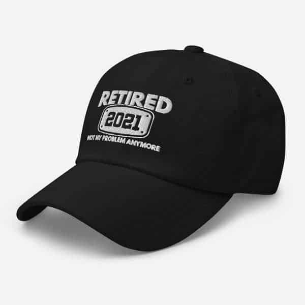 Retired 2021 Baseball Hat