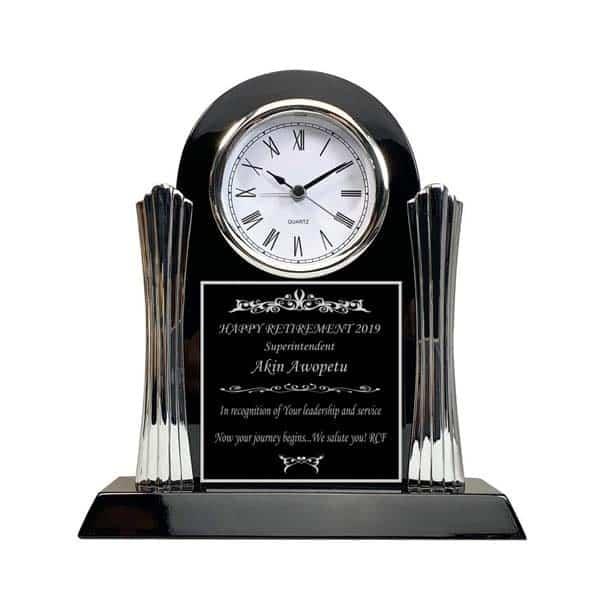 great retirement gifts for men: Retirement Achievement Clock
