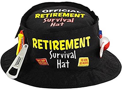 Retirement Party Survival Hat