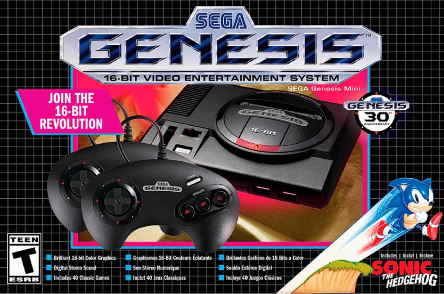 SEGA Genesis Mini Console - gifts for teen boys