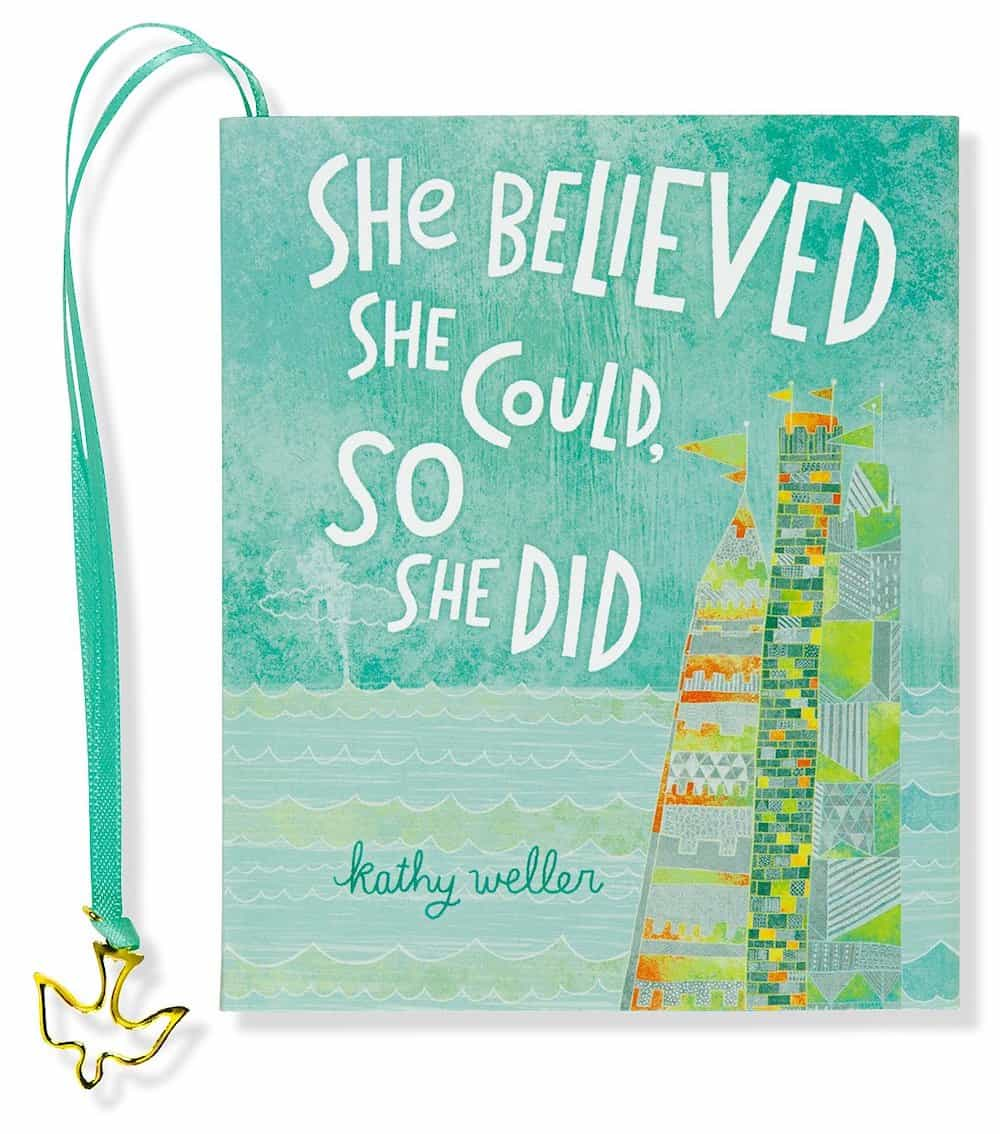She Believed She Could, So She Did mini book - an inspirational 16th birthday gift for girls