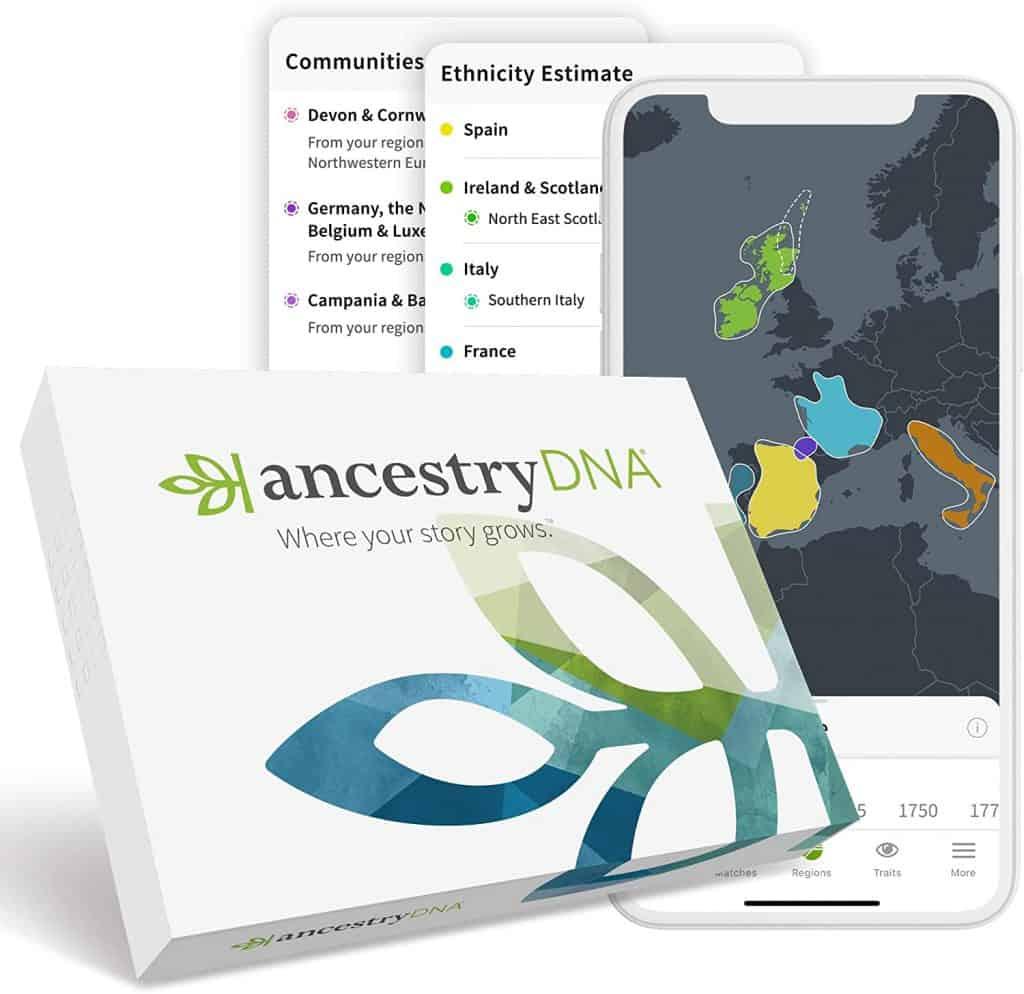 unique gift: ancestryDNA test kit