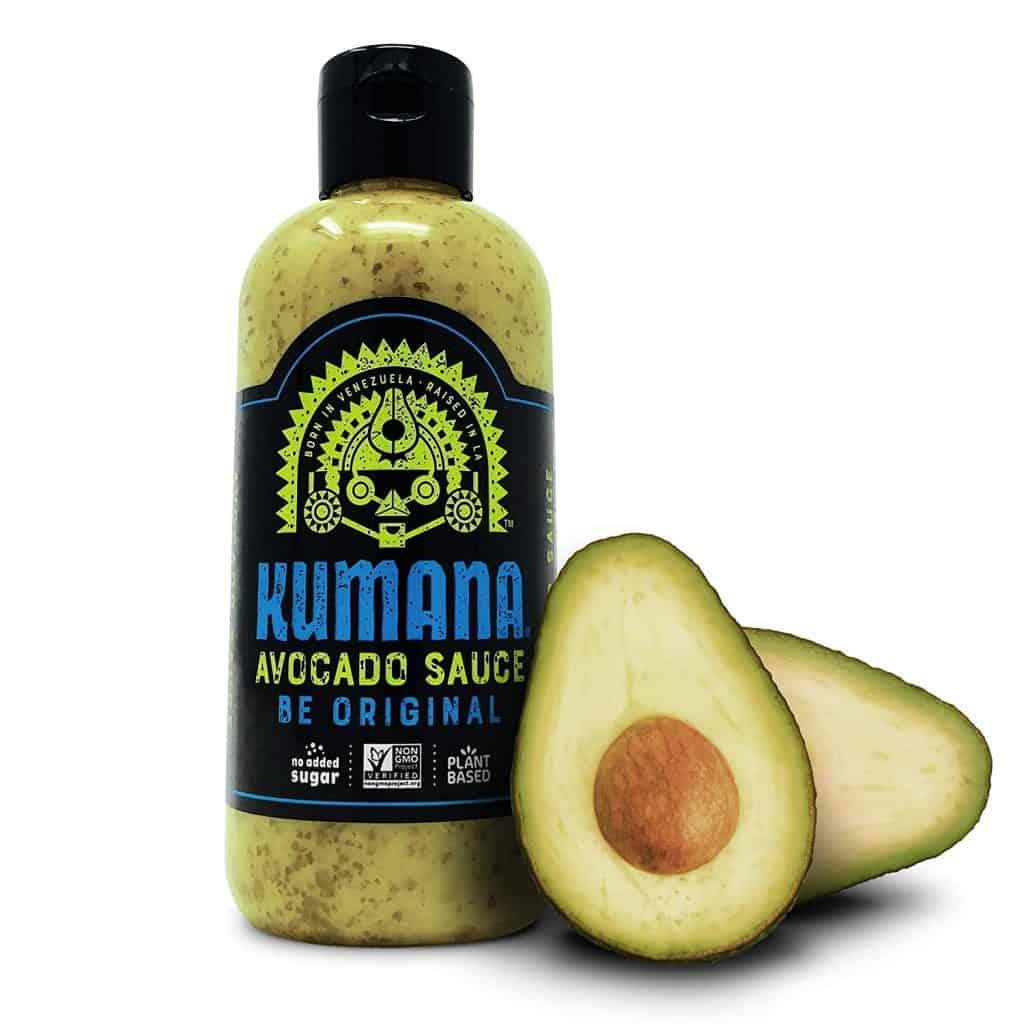 gift idea for hot sauce lover: kumana avocado sauce