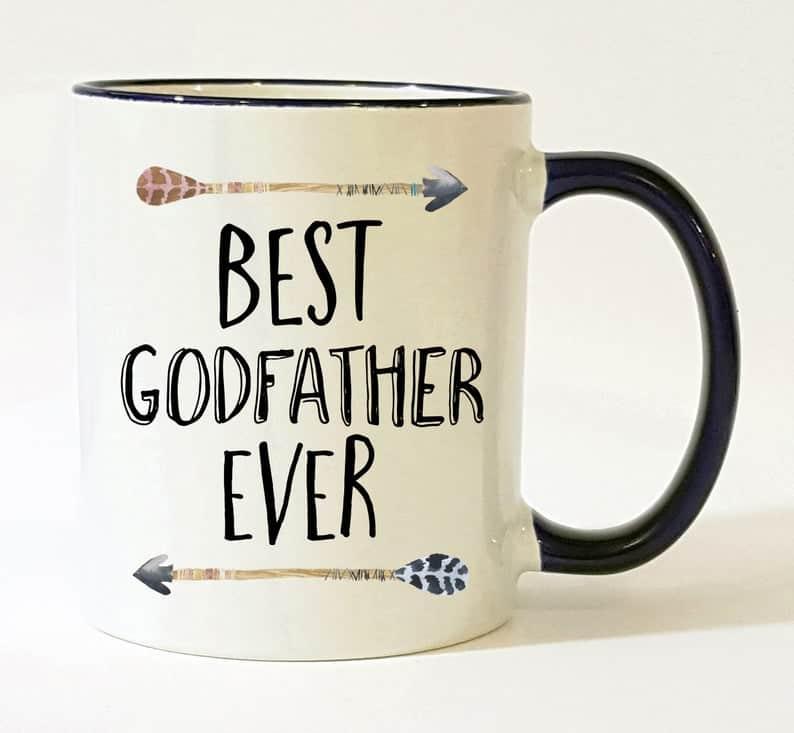 godfather gift ideas: best godfather ever mug
