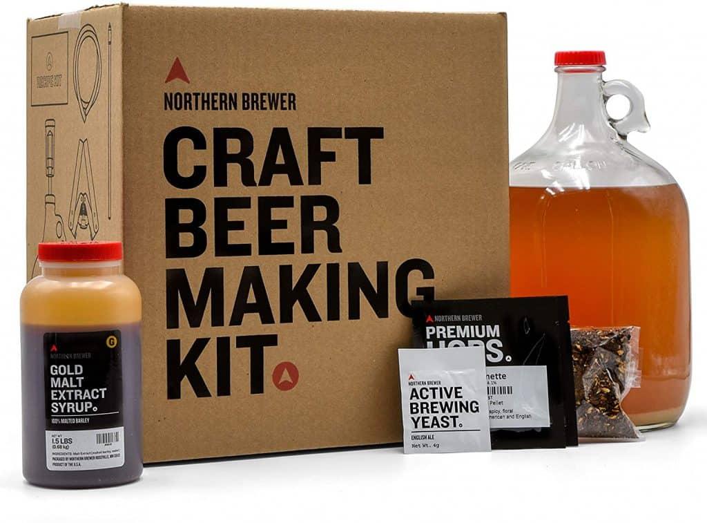beer gift ideas: craft beer making kit