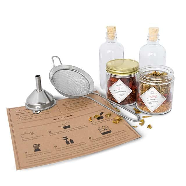 gifts for hot sauce lovers: DIY hot sauce making kit