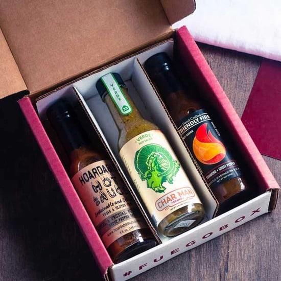 hot sauce gift box from fuegobox