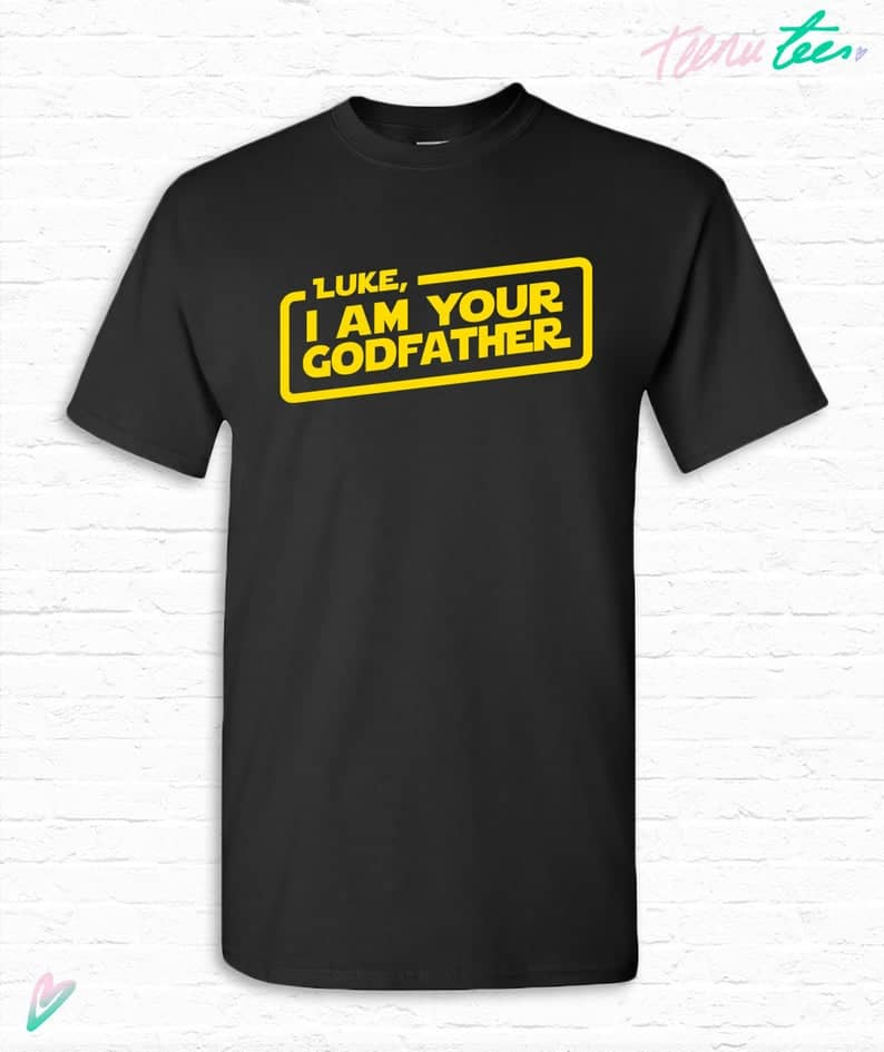 star war gifts for god father: i am your godfather t-shirt