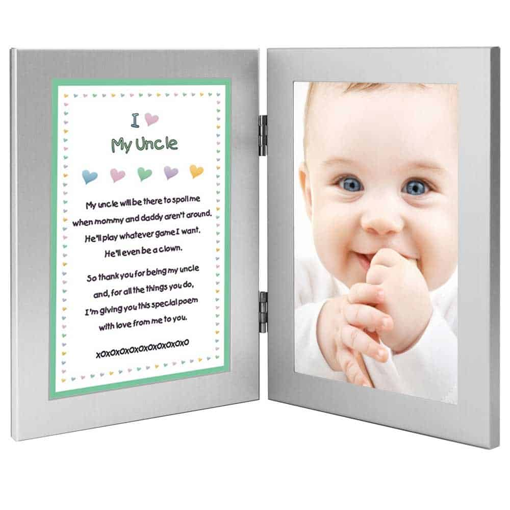 uncle gifts from baby: i love my uncle photo frame