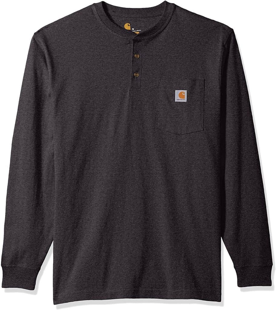 christmas gift for uncle: long sleeve henley