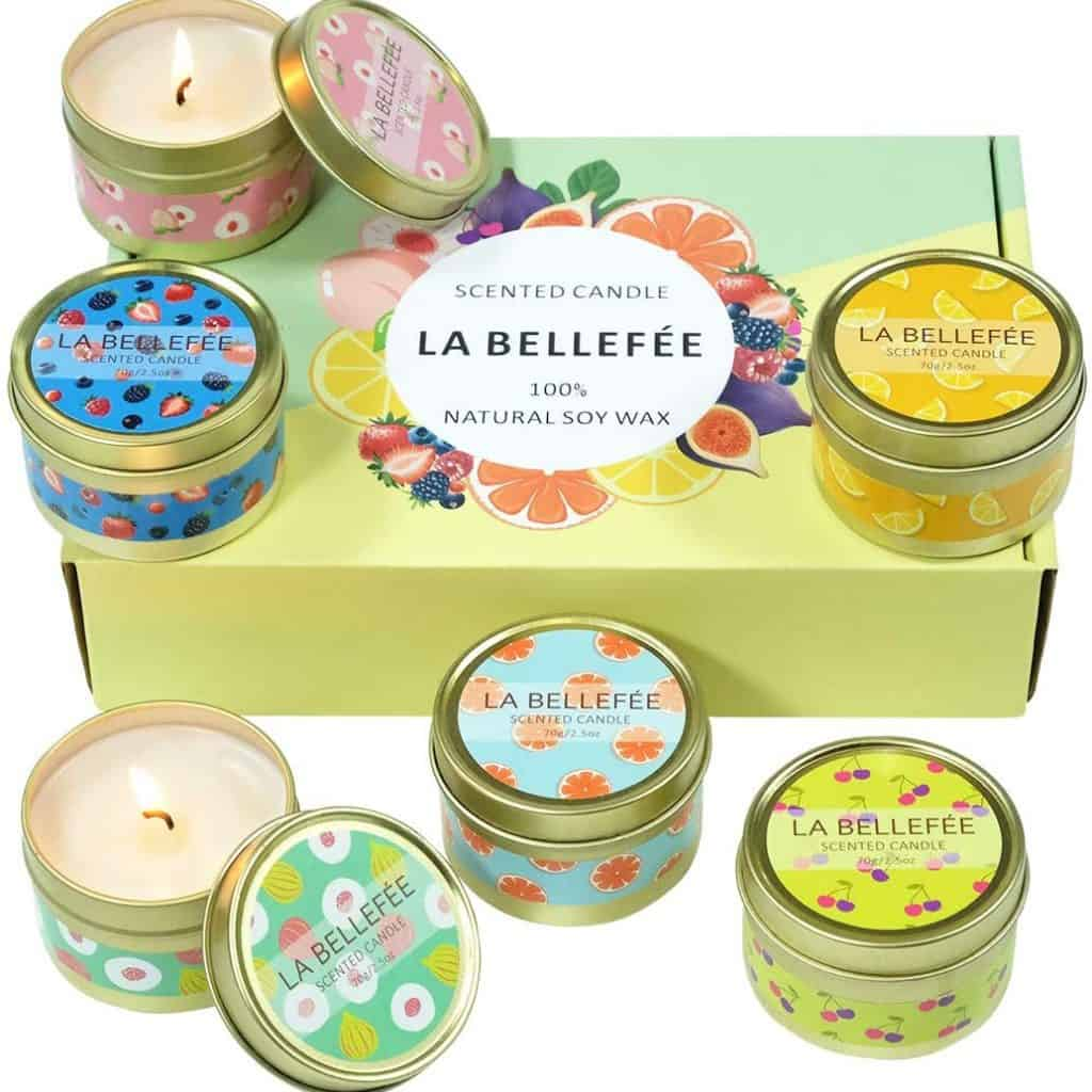 Scented Candle Set is the best retirement gift for women