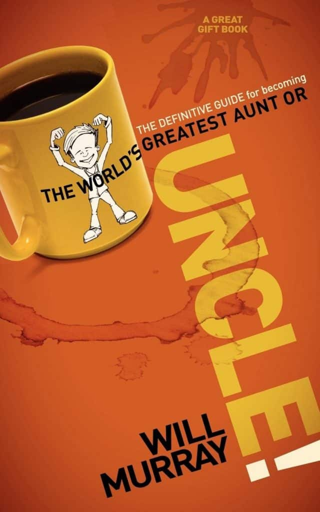 """uncle gift ideas: """"The Definitive Guide for Becoming the World's Greatest Aunt or Uncle"""" Book"""