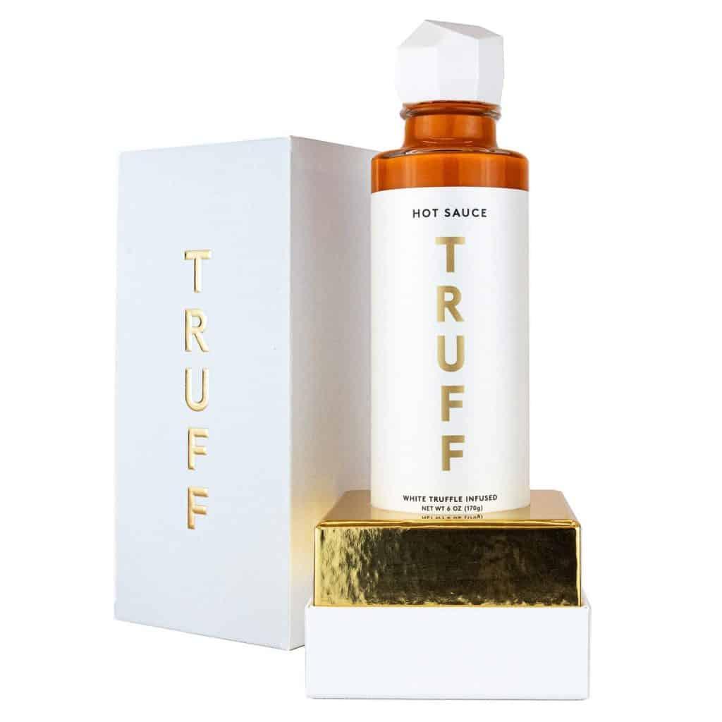 unique hot sauce gift: white truffle hot sauce