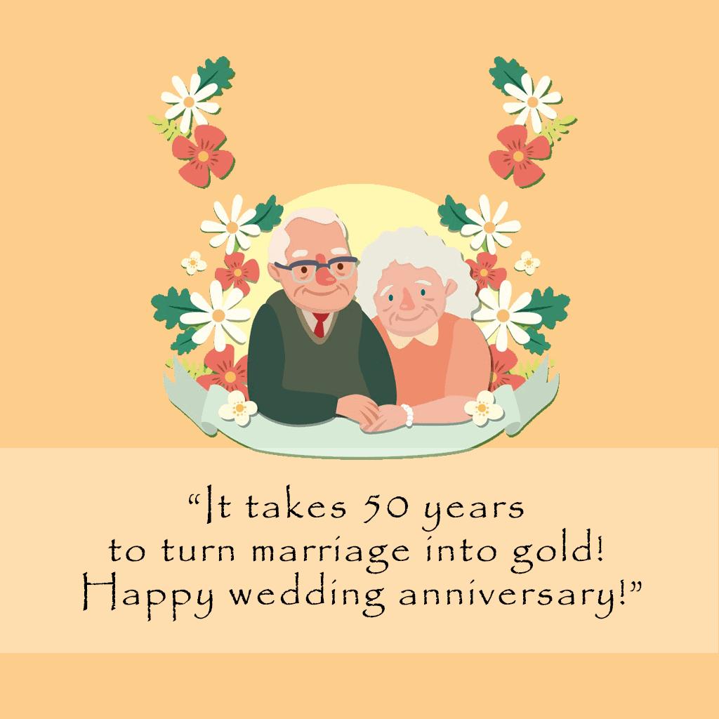 50th Wedding Anniversary Quotes