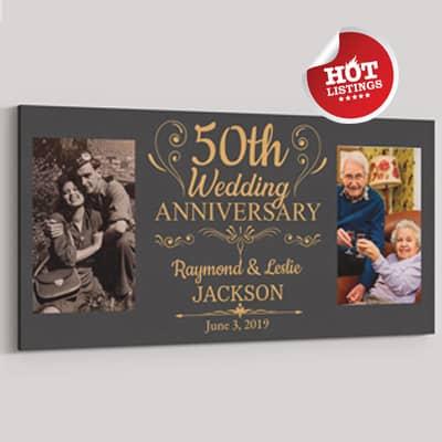 50th anniversary canvas