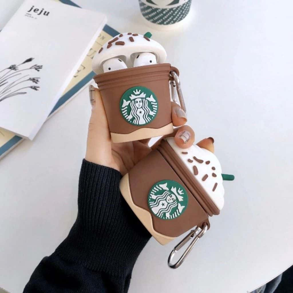 AirPod Case in Starbuck coffee cup shape - gifts for teen girls