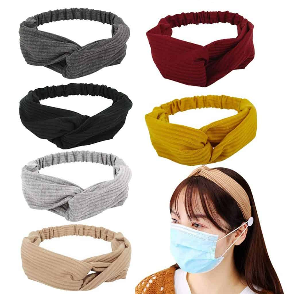 Button Headbands with different colors