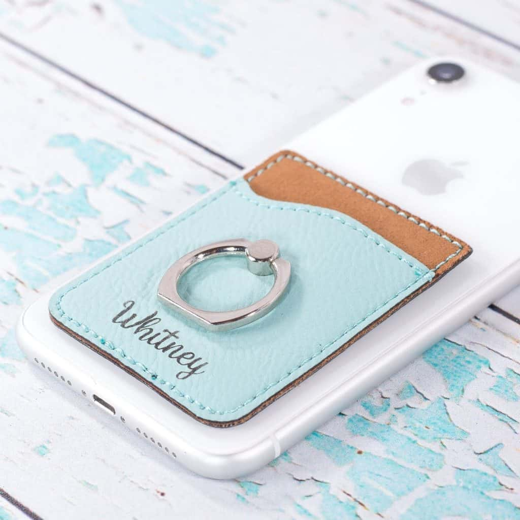 Personalized Phone Wallets with phone ring