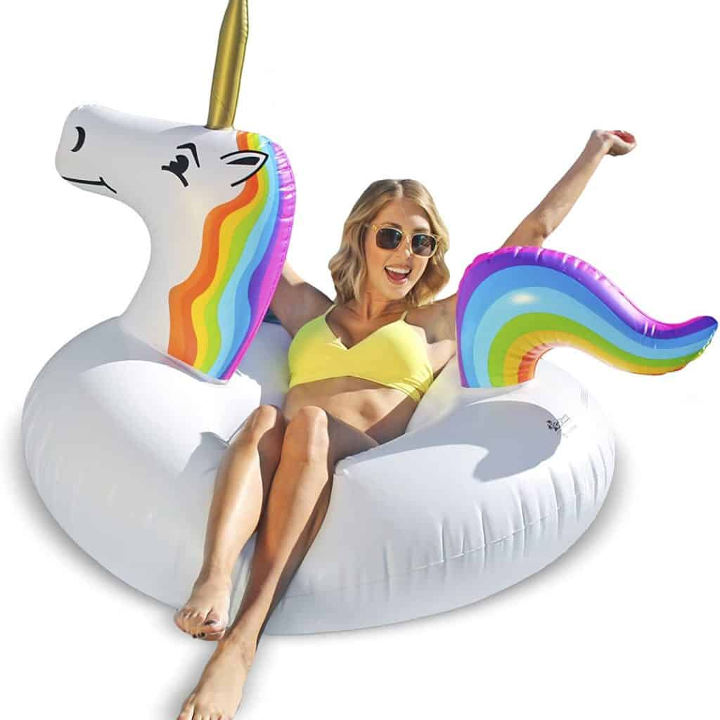 Pool Float in shaped of unicorn