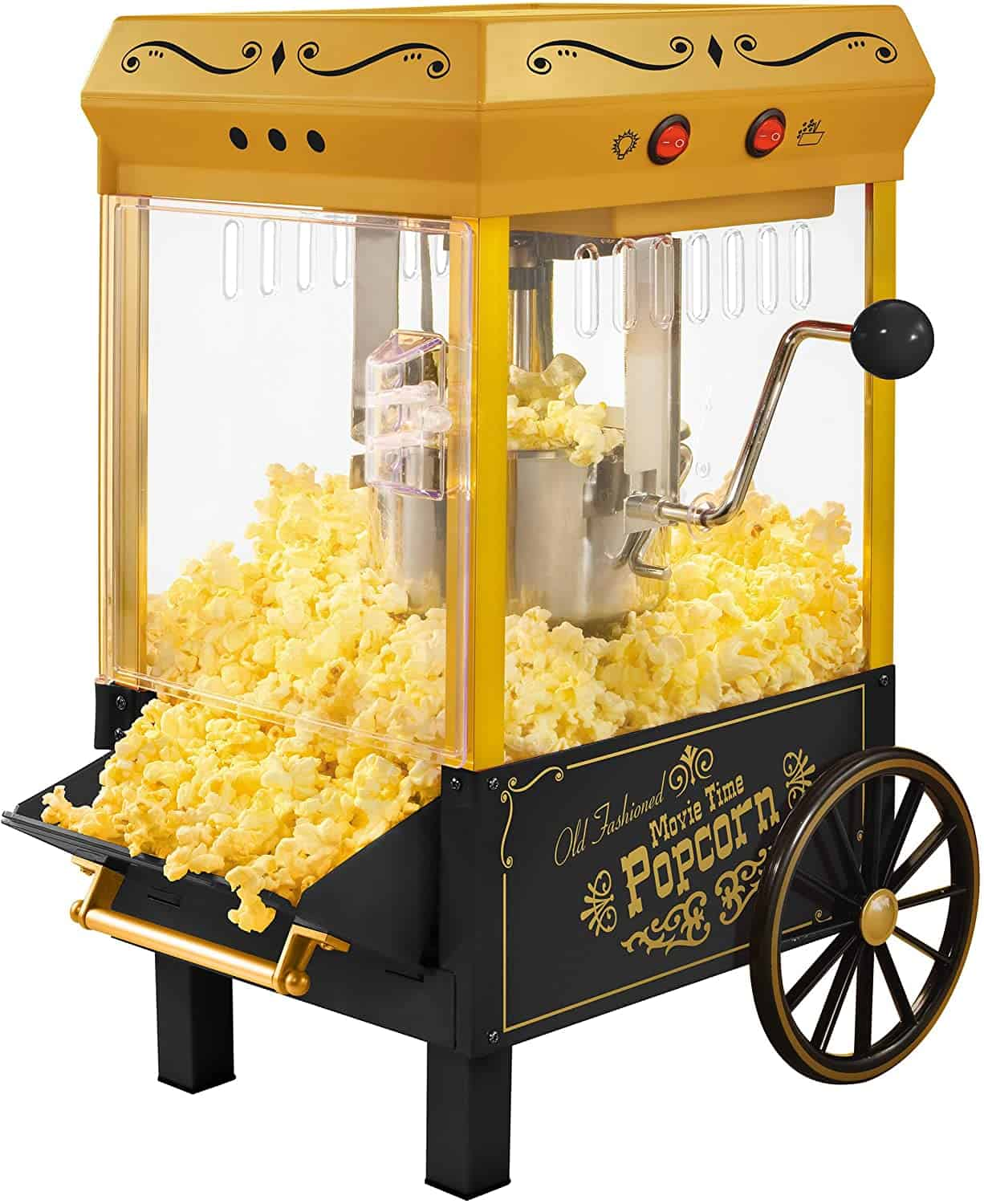 Popcorn Maker in yellow color