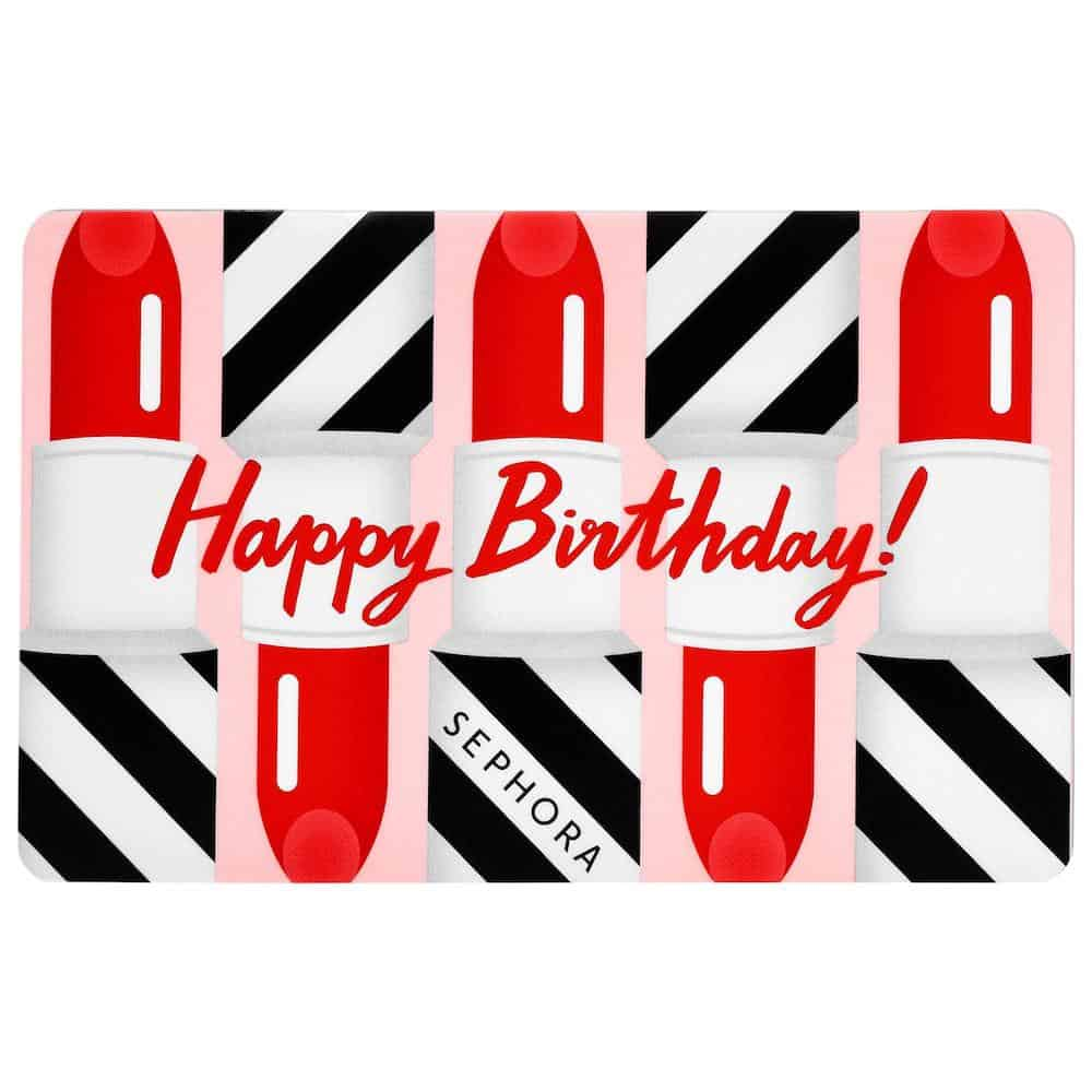 SEPHORA COLLECTION Happy Birthday Gift Card