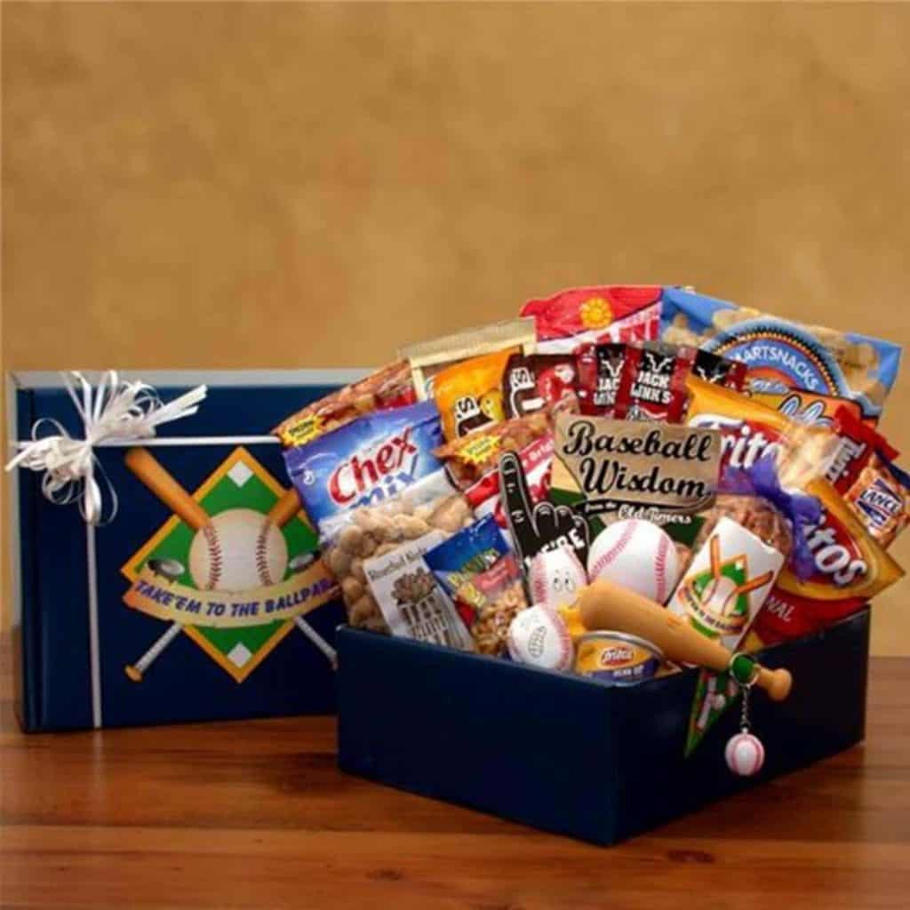 The Baseball Lovers Gift Box - Makes a Great Gift for Men and Boys