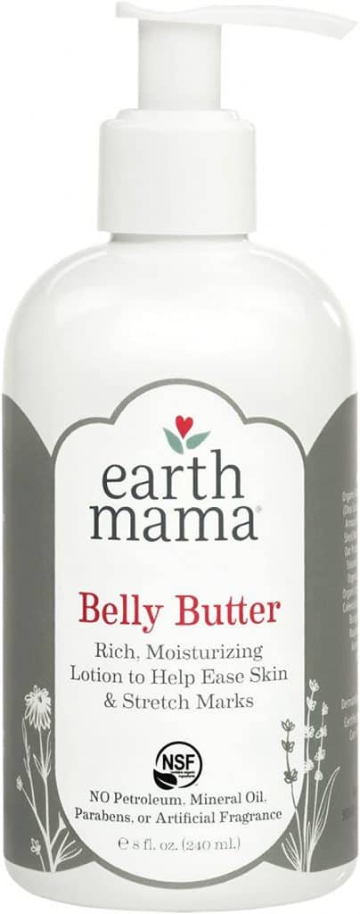 mom to be gift idea: belly butter by earth mama