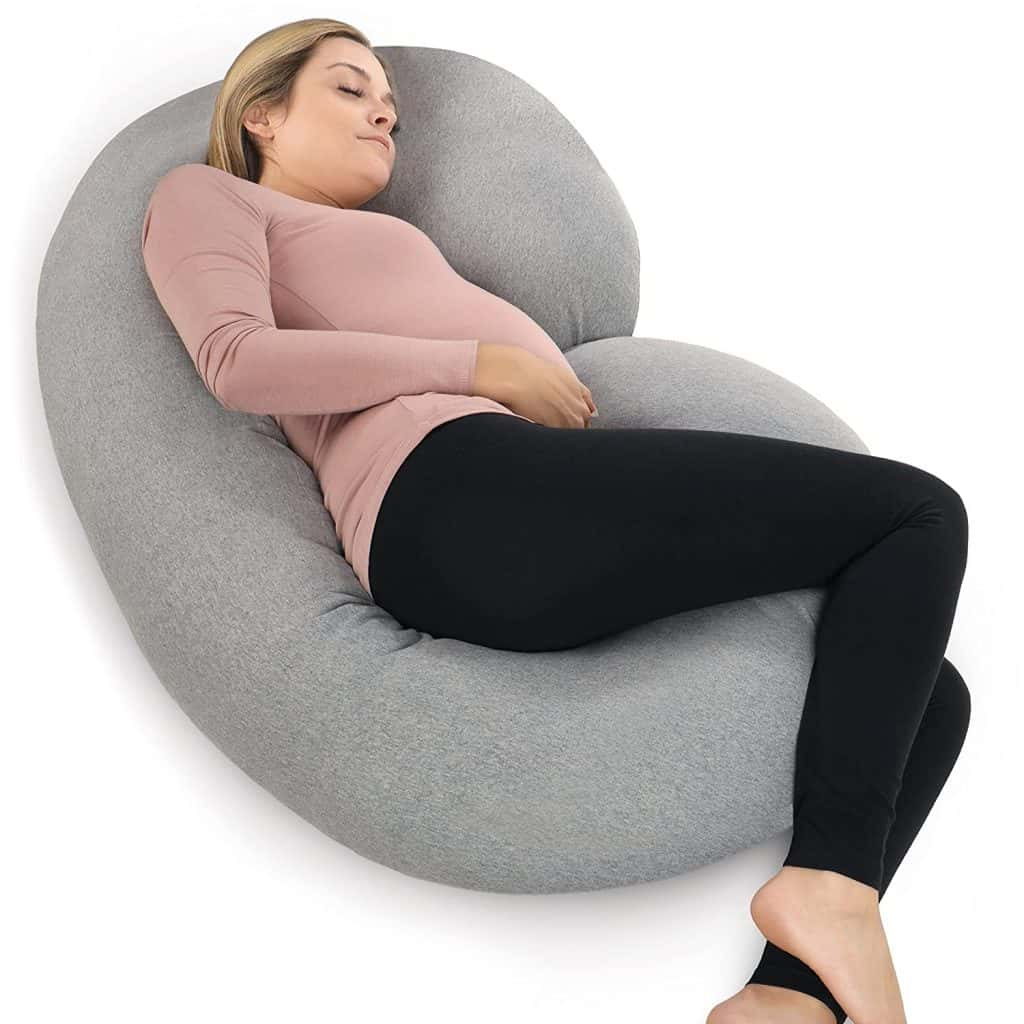 best baby shower gifts for mom: pregnancy pillow