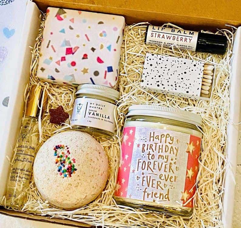 Birthday Spa Gift Box