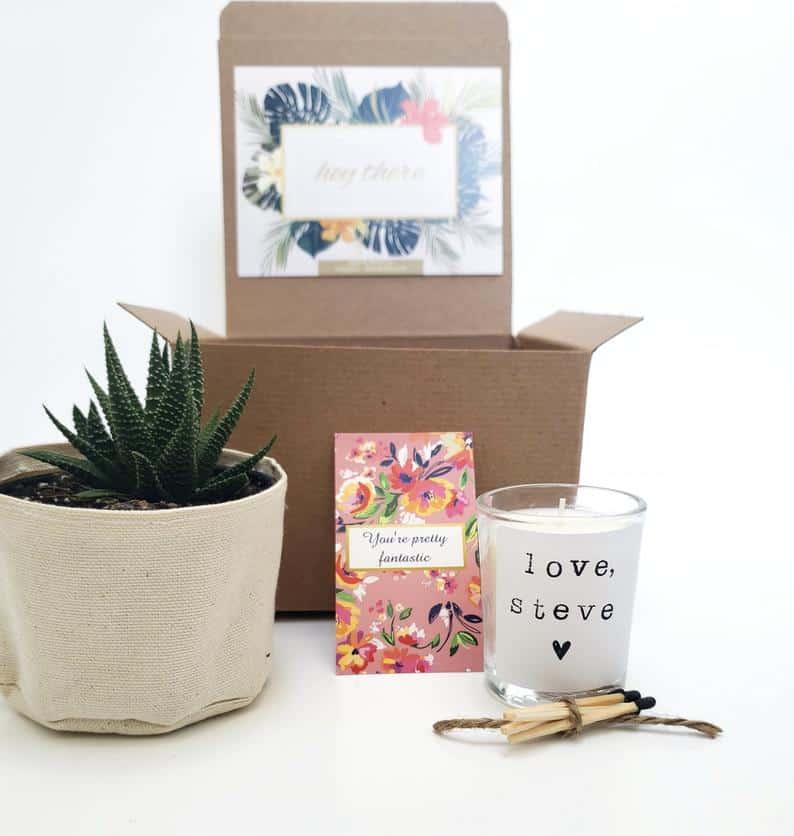 Custom Planter Gift Box