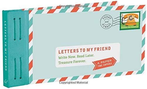 best friend gift ideas: letters to my friend