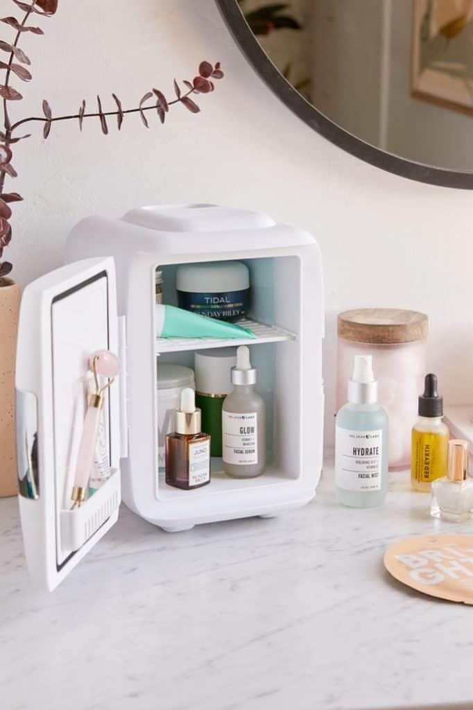 best friend gifts: Mini Beauty Refrigerator