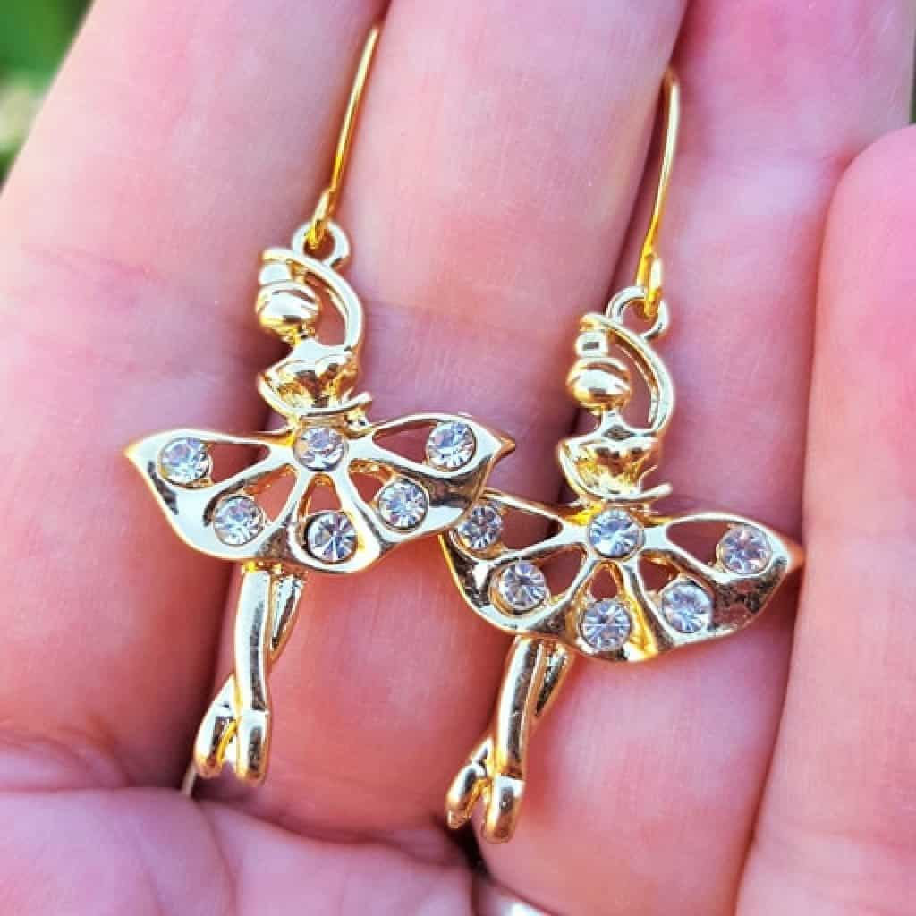 Ballerina Earrings - Gifts for Dancers