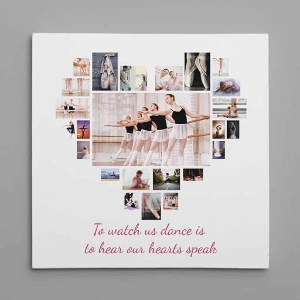 Custom Canvas Print - Gifts for Dancers