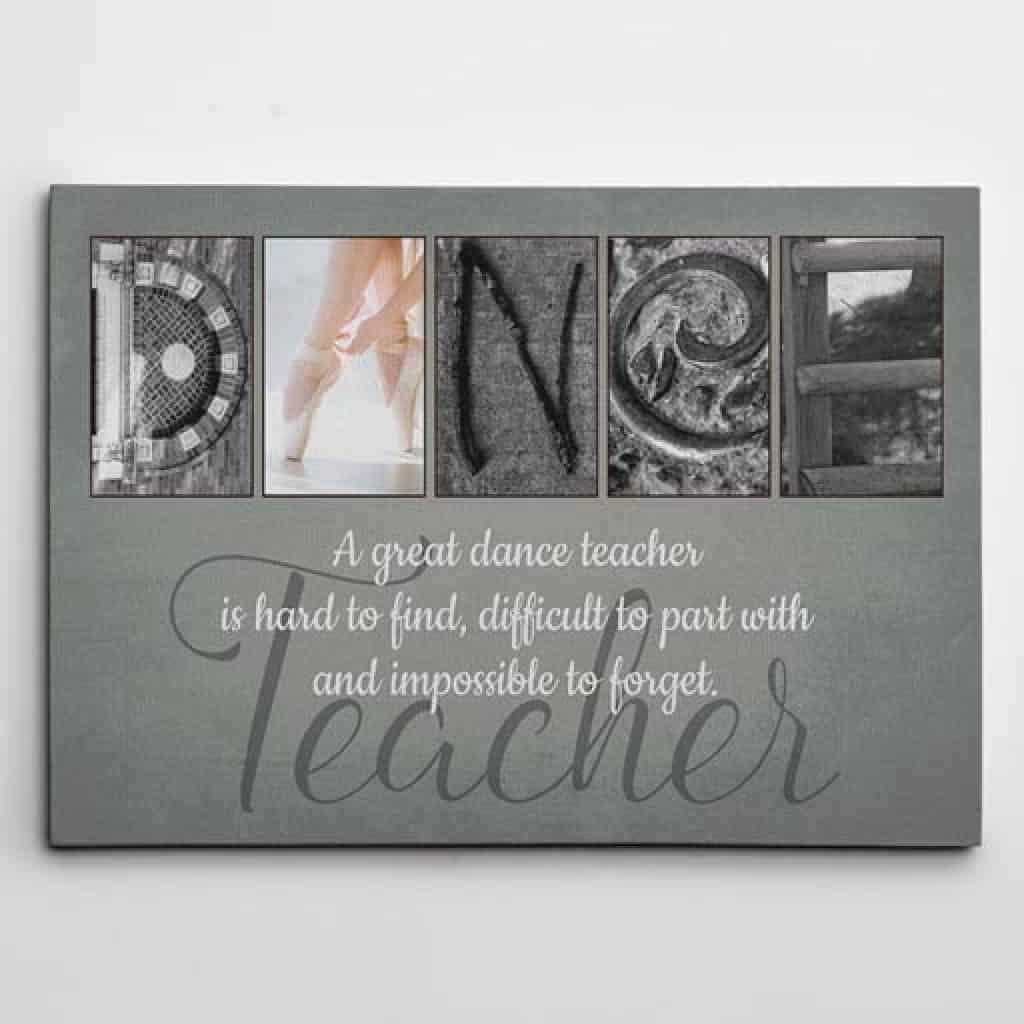 Dance Teacher Art