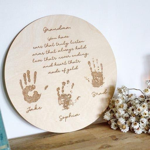 Family Sign - Christmas gifts for grandma