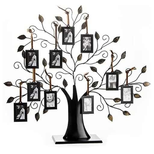 Black Family Tree Picture Frame