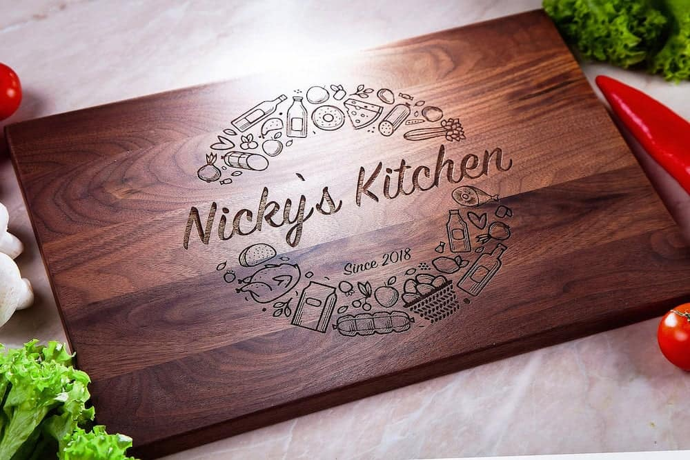 Personalized Cutting Board Gift For Mother-In-Law