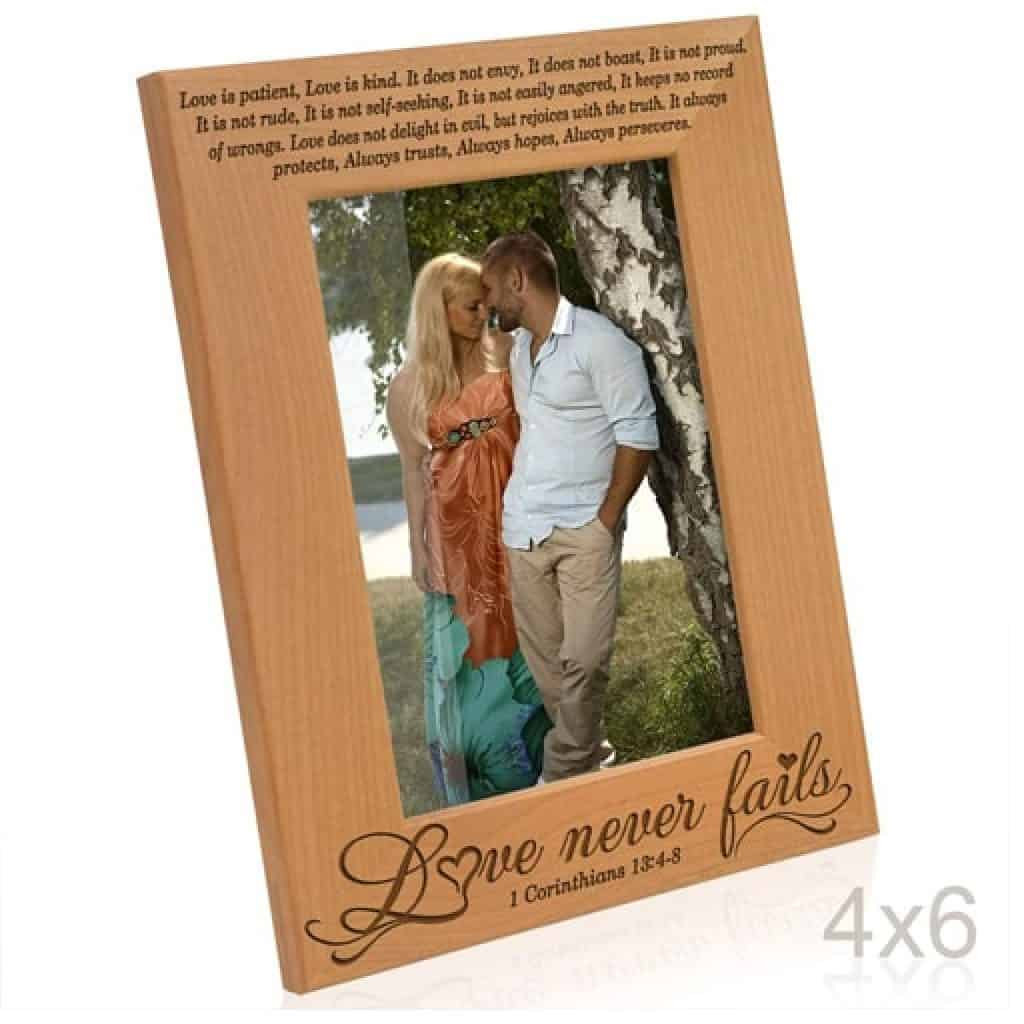 picture frame - christian gift ideas for wife