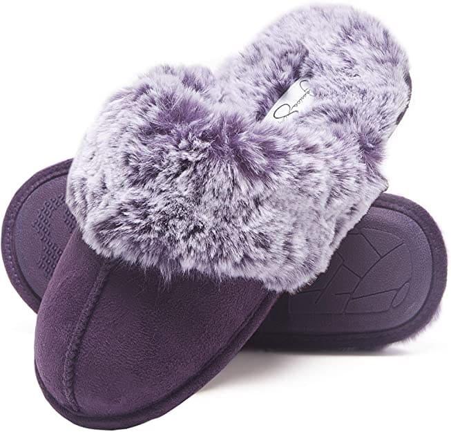 Women's Comfy Faux Fur House Slipper