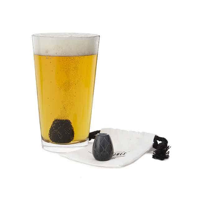beer gift ideas: beer foaming stones