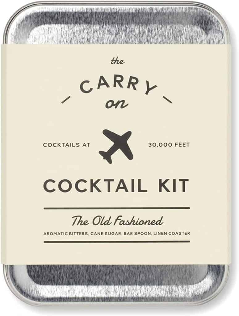 stocking stuffers for man: carry on travel kit