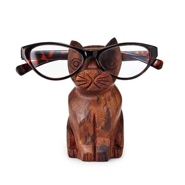 stocking stuffer ideas for women: cat eyeglasses holder