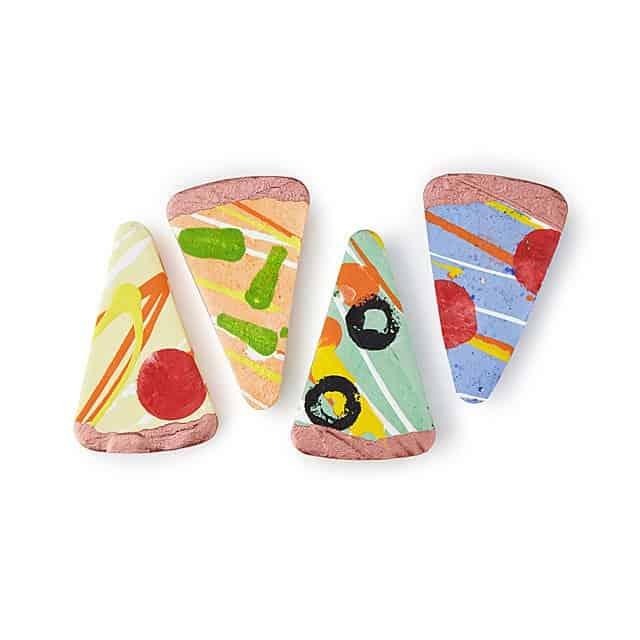 stocking stuffers for kids: Cheesy Pizza Chalk Set
