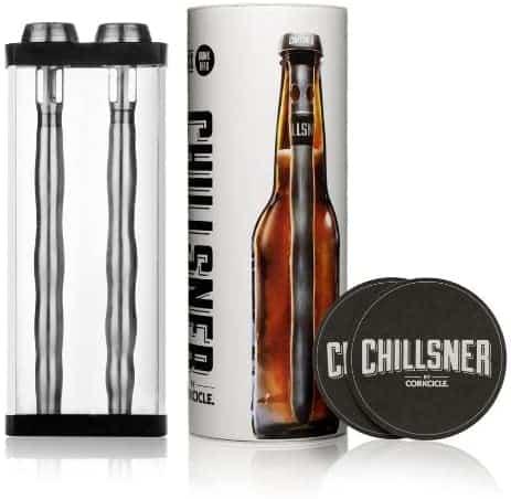men stocking stuffer ideas: Corkcicle Chillsner Beer Chiller